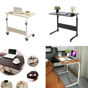 Adjustable Laptop Desk Stand Portable Notebook Computer Table Trolley Bed Tray