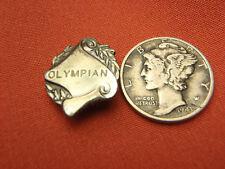 Vintage UNKNOWN Olympics Olympian lapel pin brooch Lot 7022