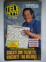 Telesette 1994 Castagna Capello Asprilla Maradona Marini Parietti Scifo Romario