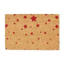 Paillassons, tapis de sol rouges en fibre de coco pour la cuisine