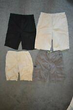 BOYS dress SHORTS size 12 Husky 14 Khaki LEE Dungarees lot adjustable waist