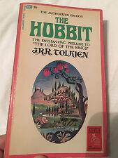 "The Hobbit SC 1st Print 1965 Ballantine Barbara Remington ""Lion Cover"" Tolkien"