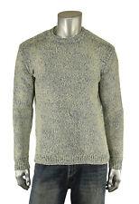 Ralph Lauren Polo Indigo Rag Cotton Crewneck Sweater New $265