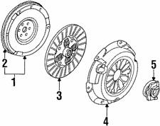 Genuine Ford Ring Gear D4FZ-6384-A