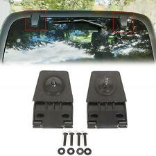 Hardtop Liftgate Glass Hinges Stainless for Jeep Wrangler YJ TJ 87-06 50516