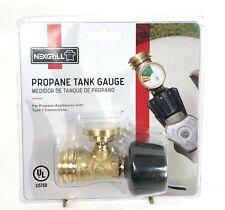 Nexgrill Propane Tank Gauge Clear Durable Brass Construction Indicator 530-0074