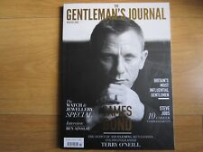 Gentlemans Journal Winter 2015,Daniel Craig,Steve Job New.
