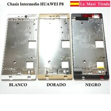 """Chassis Intermediate for """" huawei P8 """" Black Silver Gold Coloured Frame Spare"""