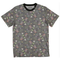 Men's T-Shirt 2nd Quality Missed Print Weed-Mushroom--LRG-Alohigh 420 Design .