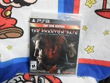 Playstation 3 Metal Gear Solid V The Phantom Pain Day One  Game BRAND NEW SEALED