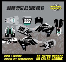 YAMAHA YZ YZF 65 85 125 250 450 FULL GRAPHICS KIT- MX - DECALS - STICKERS