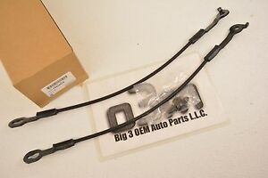 1994-2003 Chevrolet S-10 GMC Sonoma Tailgate RH & LH CABLE KIT new OEM 15939908