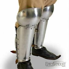 Medieval EA Enclosed leg armour warrior leg protection graves halloween new gift
