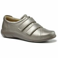Hotter Women/'s Sugar Trouser Shoe Leather Touch Fastening Adult Flats Casual