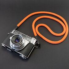 Kameragurt orange - Schultergurt Kameraseil Kameraband Camera Strap