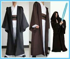 New Star Wars Jedi Sith tunic/Hooded Costume Robe Cloak Cape Hoodie Cosplay