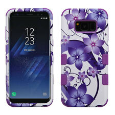 Samsung GALAXY Note 8 HYBRID Shockproof Rubber Protective Rugged Case Cover +Pad