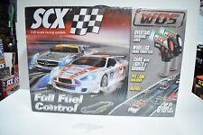 SCX WOS W10135X5U0 1/32 SCALE SLOT CAR FULL FUEL CONTROL DELUXE SET W/ PIT LANES