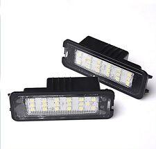 LED CanBus License Licence Number Plate Light Lamp fit VW Passat CC 2009 ->