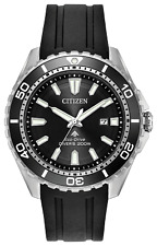 Citizen Eco-Drive Men's Promaster Diver Rotating Bezel 45mm Watch BN0190-07E
