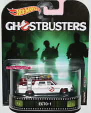 HOT WHEELS 2017 RETRO ENTERTAINMENT GHOSTBUSTERS ECTO-1