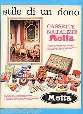 QUATTROR962-PUBBLICITA'/ADVERTISING-1962- MOTTA - CASSETTE NATALIZIE