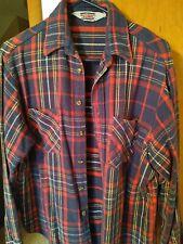 Vintage Big Mac Mens Flannel Size L