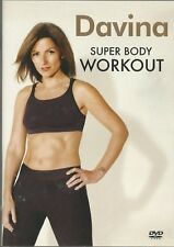 Davina Super Body Workout Exercise Fitness DVD FREE SHIPPING