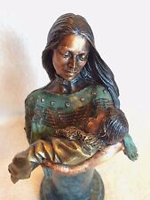 "Legends Sculpture ""FIRST BORN"" C. A .Pardell 1994 LE  ~ Certificate ~ Mint!"