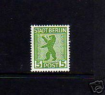 GERMANY - 1945 - BERLIN BEAR -  (P) -  MINT - MNH - SINGLE!