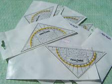 Geodreieck von Faber Castell - Dreieck mit Winkelmesser #