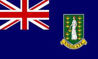 5Ft X 3Ft 5'X3' Flag British Virgin Islands