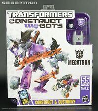 Construct-Bots MEGATRON Elite Class Transformers E1:05 G1 Hasbro New 2013