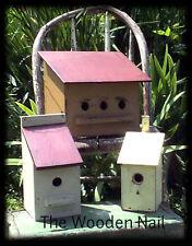 Primitive Birdhouse 3 different sizes PATTERN/PLAN WN108