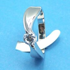 "ViVi ""H & A "" Signity Star Diamond Ring 8242 #7"
