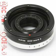 Kipon Canon EOS EF mount lens to Micro 4/3 M 43 Adapter with Build in Aperture
