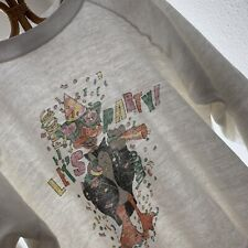 Vtg 80s Lets Party Sweatshirt Surf Skate Thin Worn Size Large Usa Nye 5050