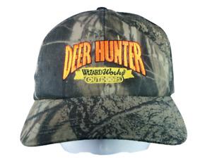 Wizard Works Outdoors Snapback Camo Hat Deer Hunter