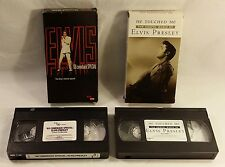 Elvis Presley VHS Tapes Lot of 2 - '68 Comeback Special / He Touched Me Vol. 2