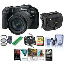 Canon EOS RP 26.2MP Mirrorless Camera w/RF 24-105mm F4-7.1 IS STM Lens W/PC ACC