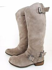Dolce Vita Beige Suede Tall Riding Boots Women's 9 M