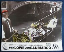 AF / lobby card  Der Löwe von San Marco 15. Feodor Chaliapin Jr.  Doge , Venedig