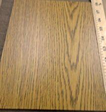 "Panolam Palma Oak # W143 MDF melamine print board panel 1/4"" x 8"" x 10"" two side"