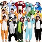 Hot Sale Unisex Adult Pajamas Kigurumi Cosplay Costume Animal Onesie Sleepwear