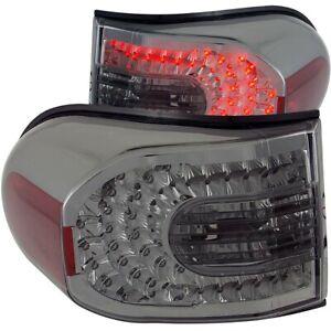 ANZO LED Taillights Smoke for 2007-2013 Toyota Fj Cruiser