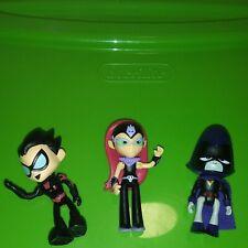 "Lot of Teen Titans Go! Mini Action Figures 2"""