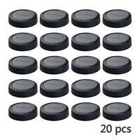 20 Pcs Camera Rear Lens Cap Cover for Fujifilm Fuji FX X Mount