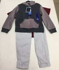 Nwt Andy And Evan Boys Size 6 3 Piece Set Navy/Burgundy