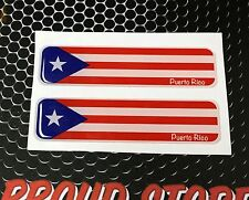 """Ohio Cleveland Browns Proud Flag Domed Decal Emblem Car Cuyahoga  4/""""x1/"""" Set of 2"""