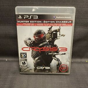 Crysis 3 -- Hunter Edition (Sony PlayStation 3, 2013) PS3 Video Game